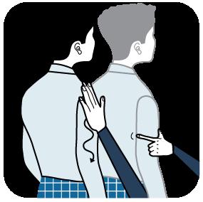 Illustration av signalen för brun