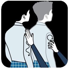 illustration av signal för grå
