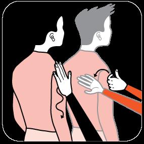 illustration av signal för rosa