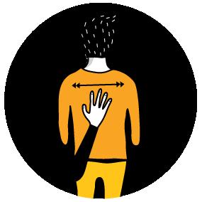 Illustration av signalen för fel.