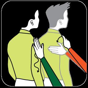 Illustration av signalen för svart