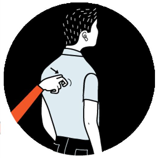 illustration av signalen för sittplats