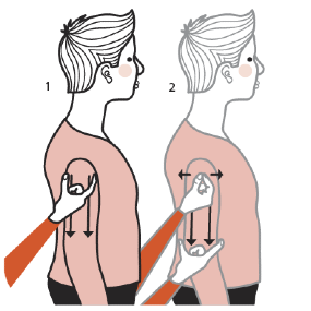 Illustration av signalen för en tjock man