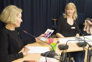 Lizette Östman och Christina Offnegårdh